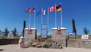mémorial cimétière américain Villeneuve sur auvers guerre mondiale