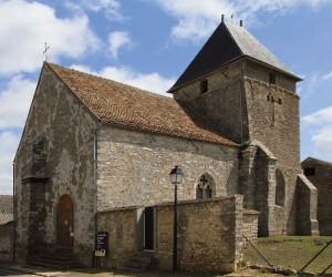 Eglise SaintThomas Becket Villeneuve sur auvers