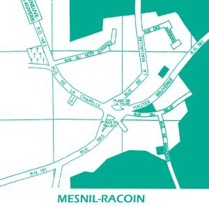 plan de Mesnil Racoin