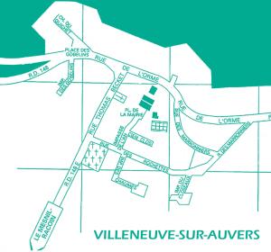 plan de Villeneuve sur Auvers